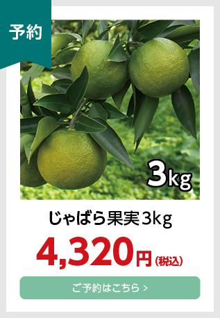 果実3kg