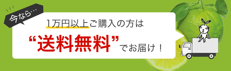 今なら・・・1万円以上ご購入の方は送料無料でお届け!